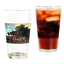 Bierstadt A Rustic Mill Drinking Glass