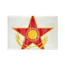 Kazakhstan Roundel Rectangle Magnet (10 pack)
