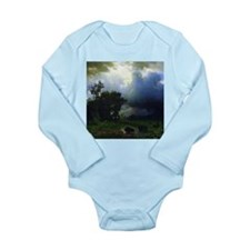 Bierstadt Before The Storm Long Sleeve Infant Body