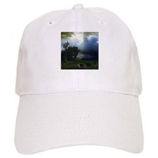 Bierstadt Before The Storm Baseball Cap