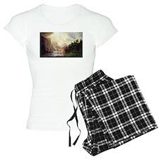 Bierstadt Sierra Nevada pajamas