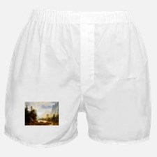 Albert Bierstadt Yosemite Valley Boxer Shorts