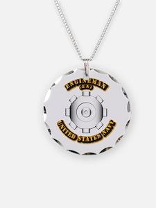 Navy - Rate - EN Necklace