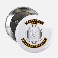 """Navy - Rate - EN 2.25"""" Button (10 pack)"""