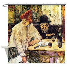 Toulouse-Lautrec Restaurant Shower Curtain