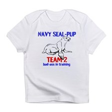 Navy Seal-pup Infant T-Shirt