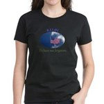 9-11 We Have Not Forgotten Women's Dark T-Shirt