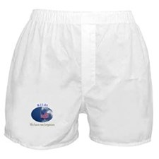 9-11 We Have Not Forgotten Boxer Shorts