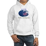 9-11 We Have Not Forgotten Hooded Sweatshirt