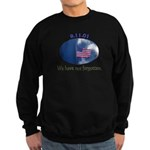 9-11 We Have Not Forgotten Sweatshirt (dark)