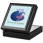 9-11 We Have Not Forgotten Keepsake Box