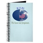 9-11 We Have Not Forgotten Journal