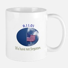 9-11 We Have Not Forgotten Mug