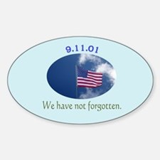 9-11 We Have Not Forgotten Decal