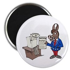 Democrats at Work Magnet