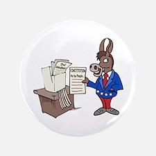 "Democrats at Work 3.5"" Button"