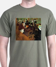Toulouse-Lautrec At the Moulin Rouge T-Shirt