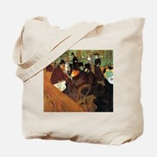 Toulouse-Lautrec At the Moulin Rouge Tote Bag
