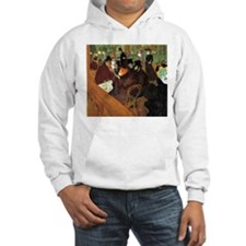 Toulouse-Lautrec At the Moulin Rouge Hoodie