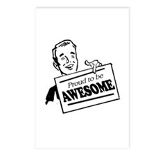 Proud to be Awesome -  Postcards (Package of 8)