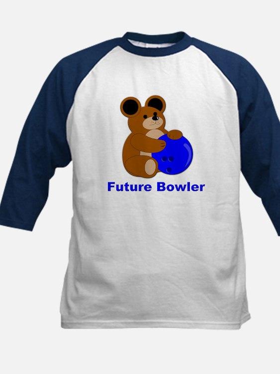 Future Bowler in Blue Tee