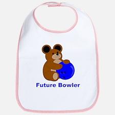 Future Bowler in Blue Bib