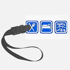eat sleep agility-2.png Luggage Tag