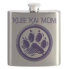 alaskan klee kai mom black.png Flask