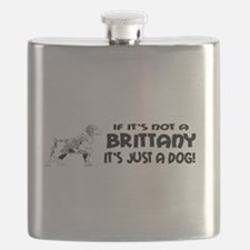 brittany dog bumper.png Flask