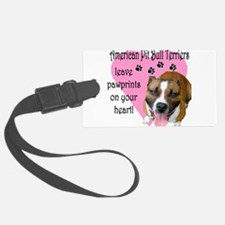 2-american pit pawprints darks2.png Luggage Tag