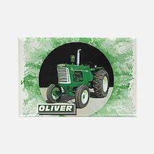Oliver Tractor Rectangle Magnet