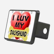 dachshund luv.png Hitch Cover