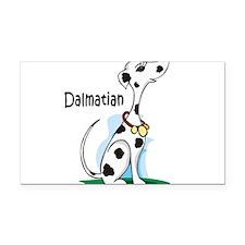 dalmatian cartoon sandstone.png Rectangle Car Magn