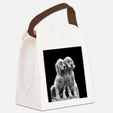 English Setter Pups-2 Canvas Lunch Bag