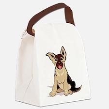 i love gsd mug.png Canvas Lunch Bag