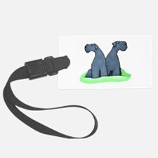 Kerry Blue Terrier Pair Luggage Tag