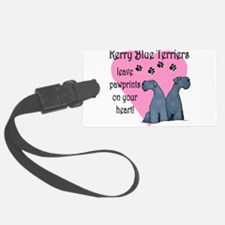 kerry blues pawprints.png Luggage Tag