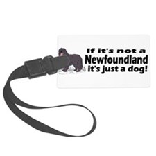 newfoundland dog bumper.png Luggage Tag
