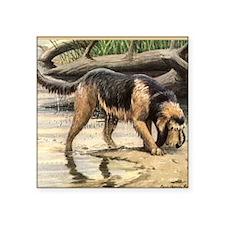 """Unique Otterhound Square Sticker 3"""" x 3"""""""