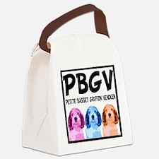 PBGV Pop Art Canvas Lunch Bag