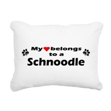 Cute Pet bumper Rectangular Canvas Pillow