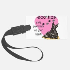 scotties pawprints new.png Luggage Tag