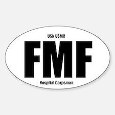 FMF NEC Sticker (Oval)