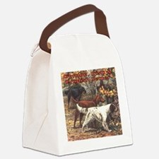Funny Irish art Canvas Lunch Bag