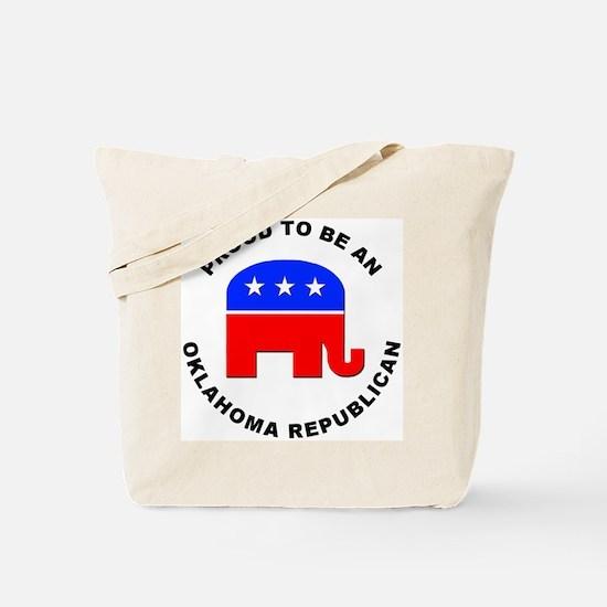 Oklahoma Republican Pride Tote Bag