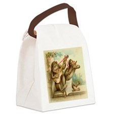 music monkeys.png Canvas Lunch Bag