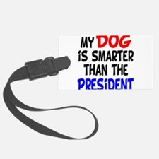 dog smarterz-1.png Luggage Tag