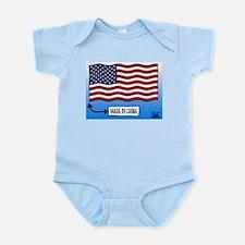 Outsourced Flag Infant Bodysuit
