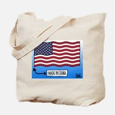 Outsourced Flag Tote Bag