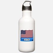 Outsourced Flag Water Bottle